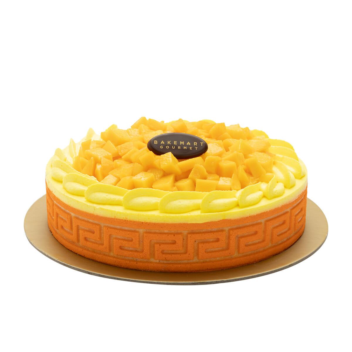 Bakemart-Gourmet-Mango-Mousse-Premium-Cake